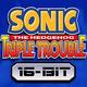 Logo Sonic Triple Trouble 16-bit