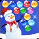 Logo Bubble Shooter: Christmas day