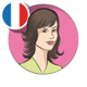 Logo Fabienne voice (French)