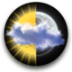 Logo Animated Weather Widget, Clock