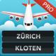 Logo Zurich Kloten Airport ZRH Pro