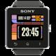 Logo LCARS inspired clock Sony SW2