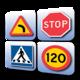 Logo Signes suédoise des routes