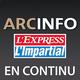 Logo ArcInfo en continu