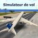 Logo Simulateur vol: voler plan 3D