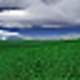 Logo Green Fields 3D screensaver