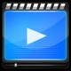 Logo Simple Lecteur vidéo MP4