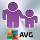 Logo AVG Family Safety iOS