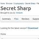 Logo Secret Sharp