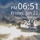 Logo Horloge météo en direct