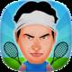 Logo Rond Tennis Jeux de 2 Joueurs