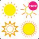 Logo Icônes météo de couleur (HDW)