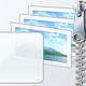 Logo Thème Windows 10 Sapins de Noël