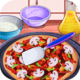 Logo Cooking Delicious Pizza