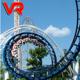 Logo Roller Coaster Virtual Reality
