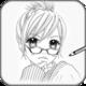 Logo Apprendre à dessiner Anime