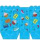 Logo Pochette pour carte cadeau bleue à imprimer