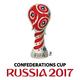 Logo Calendrier officiel de la Coupe de Confédérations 2017