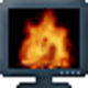Logo Crawler 3D Fireplace Screensaver