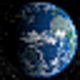 Logo Solar System – Earth 3D screensaver