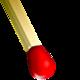 Logo Casse-tête avec des allumettes