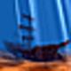 Logo Pirates Ship 3D Screensaver