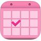 Logo Calendrier Menstruel iOS