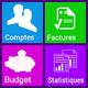 Logo Home Budget Manager (français)