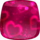 Logo Coeurs Fond d'écran Animé