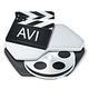 Logo Aiseesoft AVI Convertisseur pour Mac