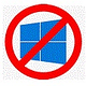 Logo I Don't Want Windows 10