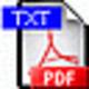 Logo Advanced PDF2TXT (PDF to Text)
