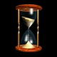 Logo 3D Realistic Hourglass Screensaver