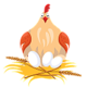Logo La Poule Sur Table 1.0
