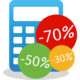 Logo Calcul Soldes Android
