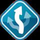 Logo MapFactor: GPS Navigation