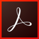 Logo Adobe Acrobat Reader DC Mac