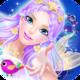 Logo Princess Salon: Mermaid Doris