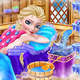 Logo Icy Queen Spa Maquillage Parti