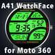 Logo A41 WatchFace for Moto 360