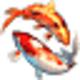 Logo Koi Fish 3D Screensaver