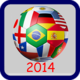 Logo Brazil 2014 Countdown Android