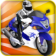 Logo Crazy Moto Racing Free