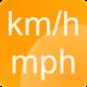 Logo Compteur de vitesse km/h – mph