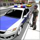 Logo Police Car Driver 3D