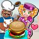 Logo Les jours heureux de hamburger
