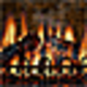Logo 3D Realistic Fireplace Screen Saver-Feu de cheminée