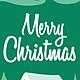 Logo Carte de Noël 2018 avec bonhomme de neige au format Word