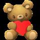 Logo Aviary Stickers: Love