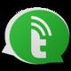 Logo Talkray Appels textos gratuits